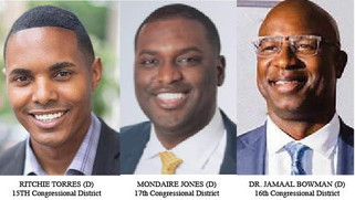 NY Congressional Primaries Could Produce as Many as Three New Black Members