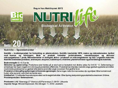 NutriLife Bio Aktivator 20 L