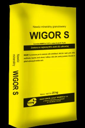 WIGOR S Svovelgranulat  25Kg / 1000Kg
