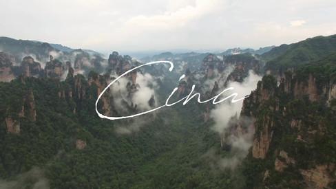 Aerial video of Zhangjiajie