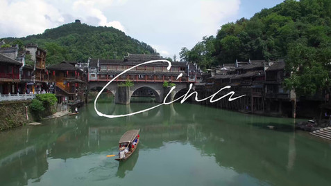 Aerial video of Chinese old town