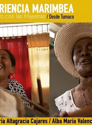 Experiencia con Alba Valencia y Maria Cajares de Tumaco