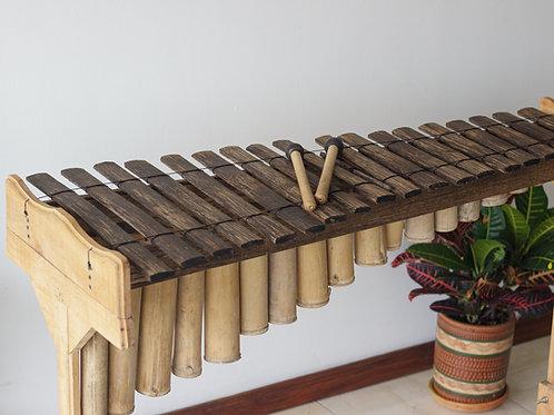 Marimba de Chonta 18 tablas - Constructor: Victor Rosero