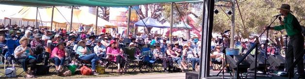 Bill Gordon performing at Nambung  Country Music Festival October 2020