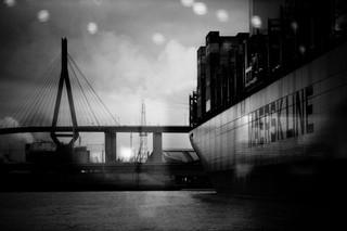 Dezember im Hafen Hamburg
