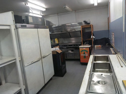 Dining Hall Kitchen area
