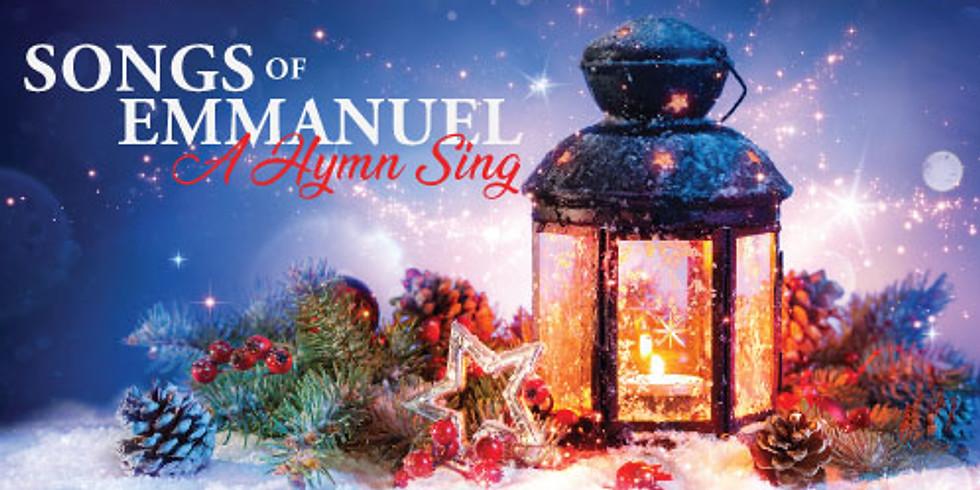 Christmas Program - Songs of Emmanuel: A Hymnsing