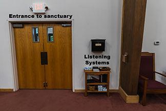 Listening device location