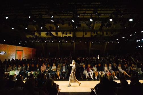 Dokumentation des Fashion Week Auftrittes von Marc Cain.