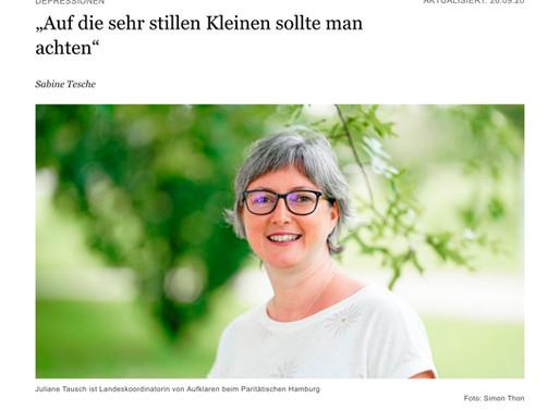 Portraitfotografie im Hamburger Abendblatt