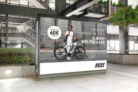 Fotoproduktion für die aktuelle Plakatkampagne von Rose Bikes