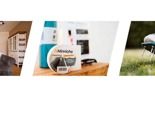 """Produktfotografie für die Werkzeugmarke """"Hinrichs"""""""