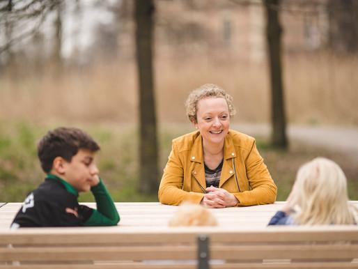 Die SPD-Bundestagskandidatin Nadine Heselhaus