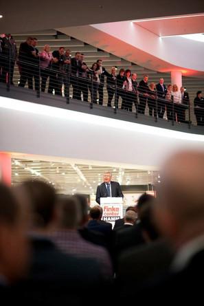 """Eröffnung eines neuen Möbelhauses von """"Finke"""" in Hamm"""
