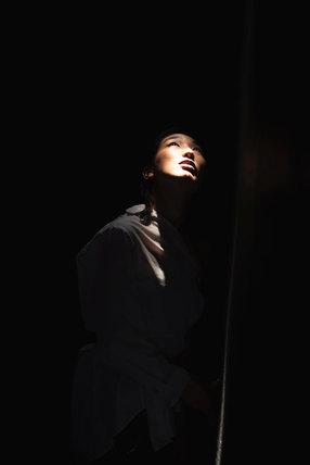 Portrait der Tänzerin Fuuko Shimazaki