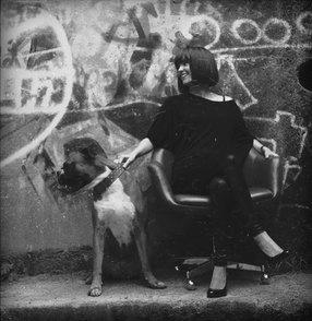 """Aus meiner ersten Fotoserie """"Human&Dog"""", in der ich Menschen und ihre Haustiere portraitierte"""