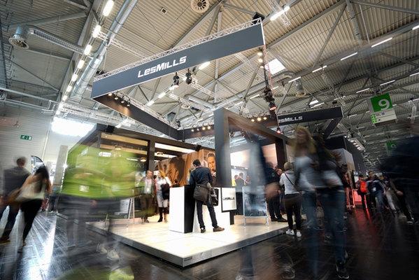 Eventfotografie auf der FIBO-Messe in Köln für Lesmills