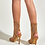 Thumbnail: Peep-Toe Gauze High Heel Womens Boots