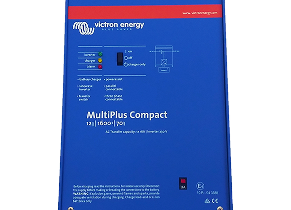 Victron Energy MultiPlus Compact 12/1600/70 Inverter Battery/Charger