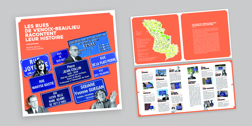 """Le livre """"les rues de Venoix-Beaulieu racontent leur histoire"""""""