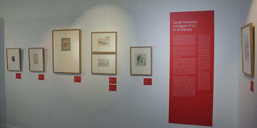 Exposition Émile Vaucanu