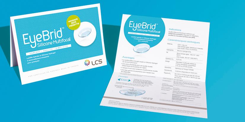 Lentille EyeBrid Silicone multifocal