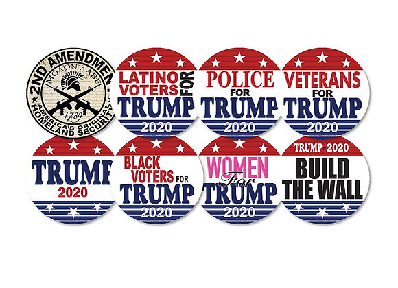 Bumper Stickers - Round