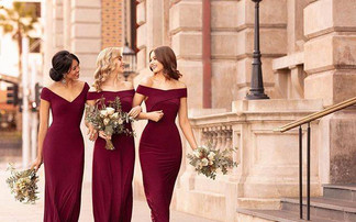Deluxe Stretch Knit Bridesmaid Dresses