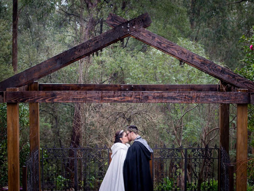 A True Fairytale! Denise and Jake's Medieval Wedding