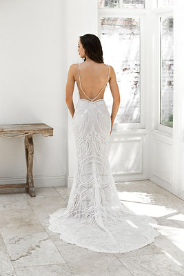 Zavana Bridal ZB215. Wedding dresses available Fairytales Bridal Boutique Melbourne.