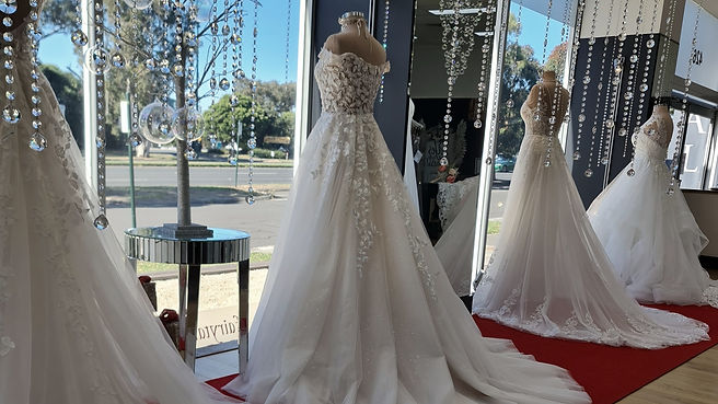 Find your wedding dress in Melbourne at Fairytales Bridal Boutique.