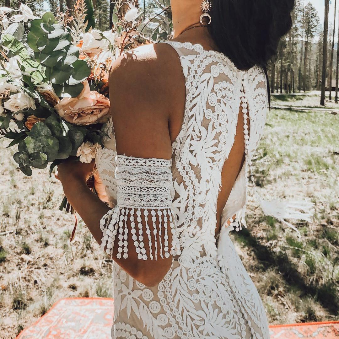 Essie Cuff with Rowen Wedding Gown