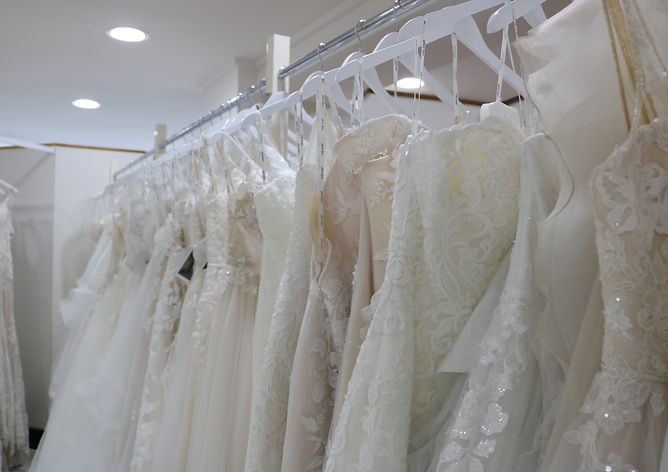 Melbourne's biggest wedding dress store.