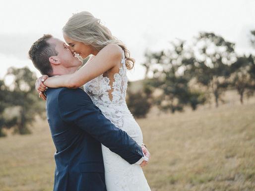 Caitlin & Nick's January Wedding