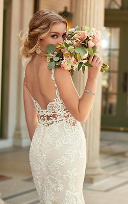 6914 Stella York available at Fairytales Bridal Boutique Melbourne.