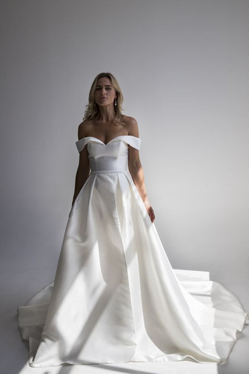 Pasadena Gown and Overskirt