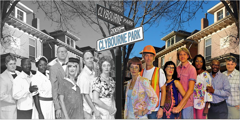 Fifty Years Apart in Clybourne Park - Coastal Stage Productions Theatre Season 2017