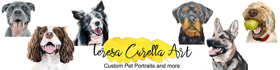Teresa Curella Art Custom Pet Portraits