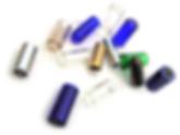 Slides, Bottlenecks in verschiedenen Materialien