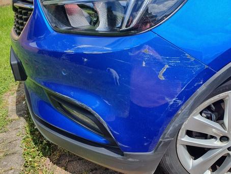 Scuffed Bumper Repair!