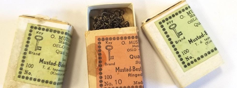 Boites d'hameçons Mustad