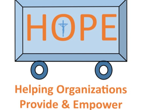 HOPE Program: Helping Organizations Provide and Empower