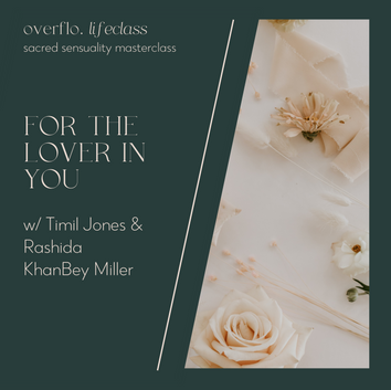 For The Lover In You Masterclass
