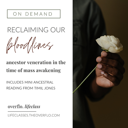 Lifeclass: Reclaiming Our Bloodlines