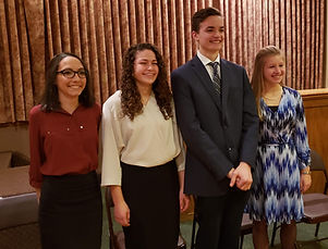 Suffolk County Oratorical Contestants Cr