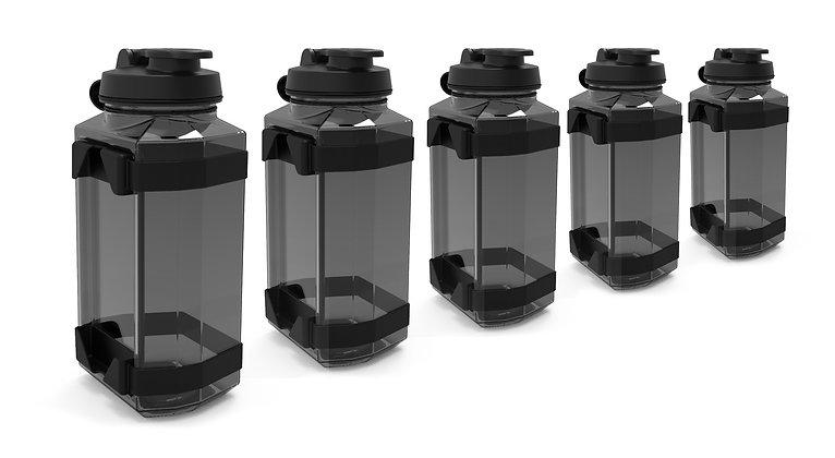 Five Side Bottles