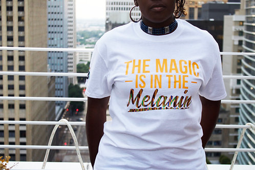 THE MAGIC (Melanin) WHITE