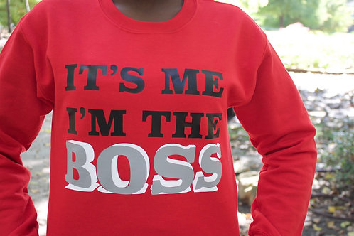 It's me I'm the BOSS