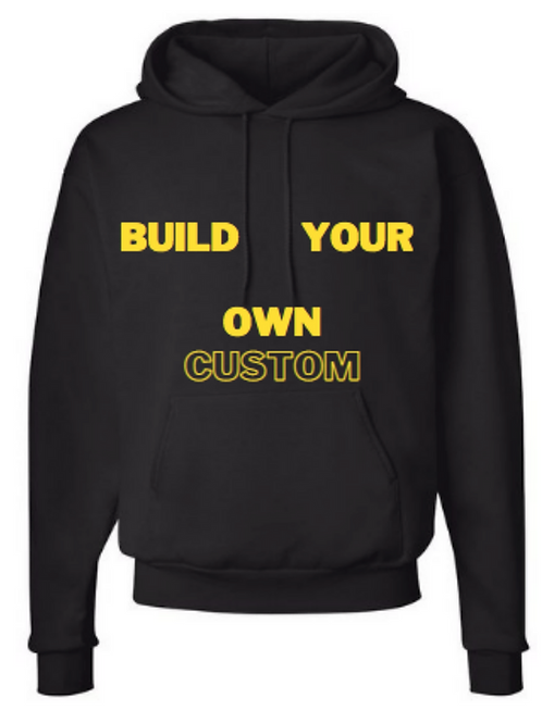 10+ custom hoodies