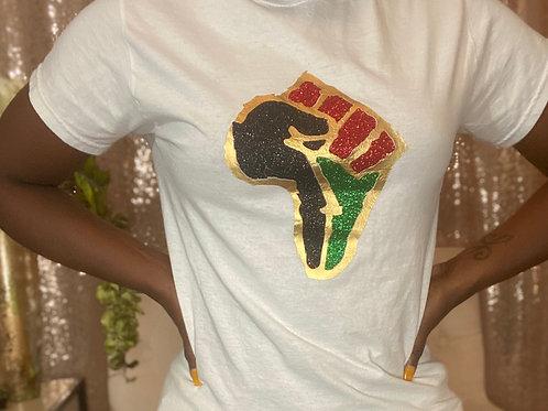 Power fist shirt